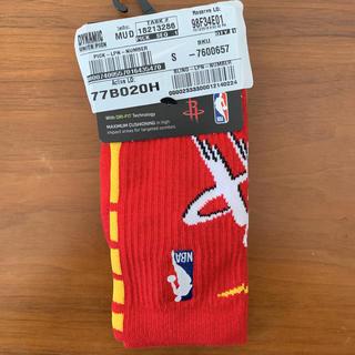 ナイキ(NIKE)のNIKE NBA ソックス Houston Rockets(バスケットボール)