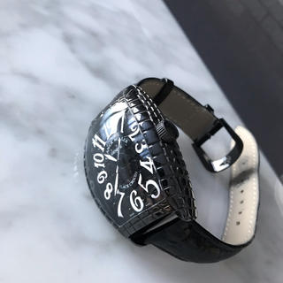 フランクミュラー(FRANCK MULLER)のフランクミュラー ブラッククロコ (腕時計(アナログ))