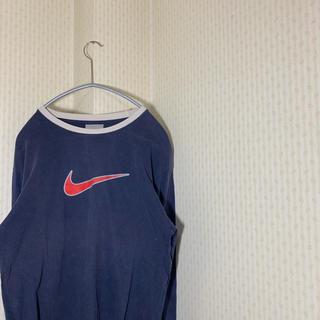 ナイキ(NIKE)の90s!  Nike ナイキ ロンt 古着 長袖 ストリート スウォッシュ(Tシャツ/カットソー(七分/長袖))