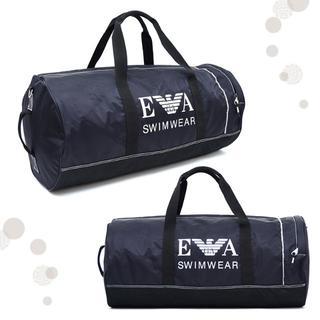 アニヤハインドマーチ(ANYA HINDMARCH)のエンポリオアルマーニ♡ボストンバッグ・ジム・スポーツバッグ◆黒ネイビー旅行鞄(ボストンバッグ)