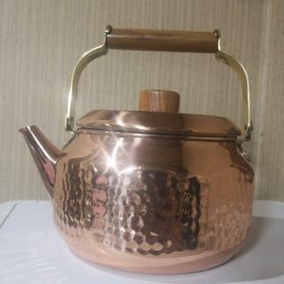 アノン汁様専用 銅製ケトル(収納/キッチン雑貨)