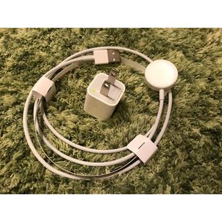 アップルウォッチ(Apple Watch)のApple Watch 純正 充電器(バッテリー/充電器)