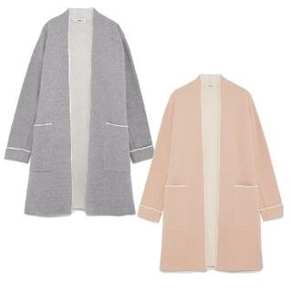 ザラ(ZARA)の安室奈美恵さん着用 ZARAパイピング入りコート(ロングコート)