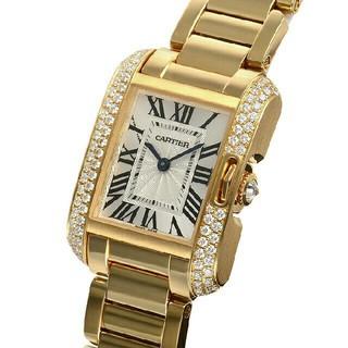 カルティエ(Cartier)のカルティエ タンクアングレーズ SM WT100005(腕時計)
