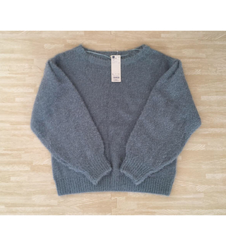 GU - GU フェザーヤーンセーター