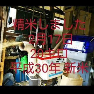 米20キロ 平成30年 精米(米/穀物)