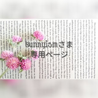 bunnyismさま専用ページ(ドライフラワー)