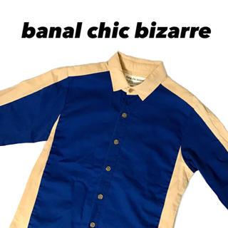 バナルシックビザール(banal chic bizarre)のbanal chic bizarre 切替シャツ  バナルシックビザール(シャツ)