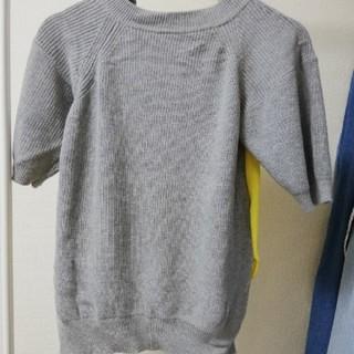 サカイラック(sacai luck)のsacai 半袖切り替えニット(ニット/セーター)
