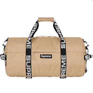 Supreme - supreme Duffle Bag tan