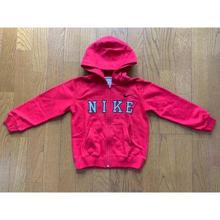 ナイキ(NIKE)の新品未使用 ナイキジップパーカー子供服(5歳~6歳)(ジャケット/上着)