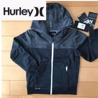ナイキ(NIKE)の新品★ Hurley  NIKE DRY-FIT ジップポケット付 パーカー 黒(ジャケット/上着)
