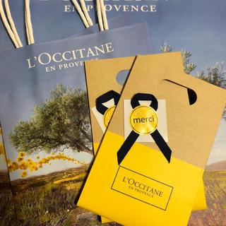 L'OCCITANE - ロクシタンギフト袋、ショッパー各3セット