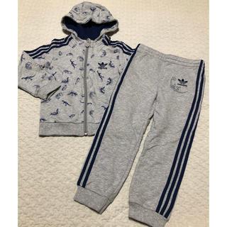 アディダス(adidas)のadidas ジャージ上下 100サイズ(Tシャツ/カットソー)