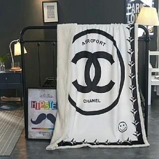 シャネル(CHANEL)のCHANEL 毛布 寝具高品質サイズ: 150cmx200cm(毛布)