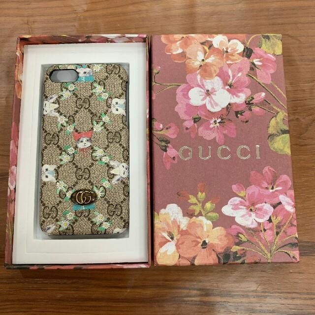 最近 流行り の iphone ケース - Gucci - GUCCI グッチ iPhone7/8ケース 携帯ケースの通販 by おまゆ👖's shop|グッチならラクマ
