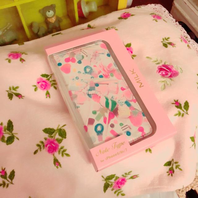 iphone xs max ケース gucci | MILK - MILK iPhoneケース キャンディ柄 ピンクの通販 by みゆ|ミルクならラクマ