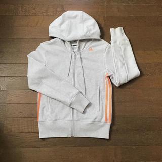 アディダス(adidas)のレディース パーカー アディダス  Mサイズ(パーカー)