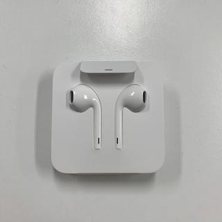 アップル(Apple)のApple イヤホン 未使用(ヘッドフォン/イヤフォン)
