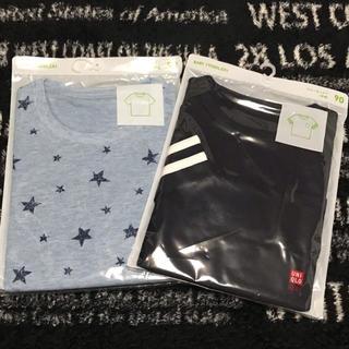 ユニクロ(UNIQLO)の新品☆ユニクロ☆90  クルーネックT  Tシャツ(Tシャツ/カットソー)