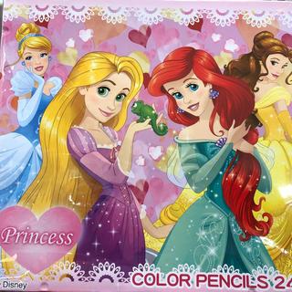 ディズニー(Disney)のディズニープリンセス 色鉛筆 24色(色鉛筆 )