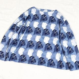 アトリエドゥサボン(l'atelier du savon)のiami MARRIAGE BLUE クループルオーバー(カットソー(長袖/七分))