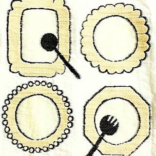 アトリエドゥサボン(l'atelier du savon)のpeu pres ノアール ダブルウェーブ ウエストバックリボンスカート(ひざ丈スカート)