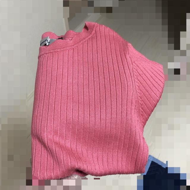 Rirandture(リランドチュール)のリランドチュール ❤︎ 袖口フレア刺繍リブニット レディースのトップス(ニット/セーター)の商品写真