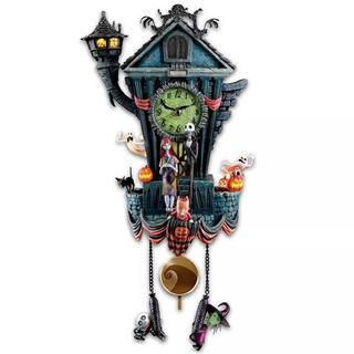 Disney - ディズニー ナイトメア ビフォア クリスマス ハロウィン 壁掛け時計 壁時計