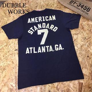 ダブルワークス(DUBBLE WORKS)の新品 ダブルワークス ヘンリーネック Tシャツ Sサイズ(Tシャツ/カットソー(半袖/袖なし))