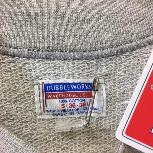 DUBBLE WORKS(ダブルワークス)の新品 ダブルワークス カットオフラグランスリーブ半袖ミニ裏毛 スウェット メンズのトップス(スウェット)の商品写真