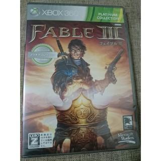 エックスボックス360(Xbox360)の【新品未開封】FABLE3(家庭用ゲームソフト)