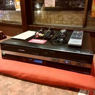 東芝 - TOSHIBA  VHS一体型 HDD&DVD内蔵  RD-W301❕リモ等付❕