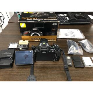Nikon -  新品に近い Nikon D5500 ボディ 付属品一式 純正おまけ付き