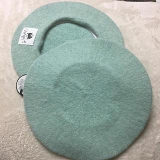 ガールズトレンド研究所 ベレー帽 猫(ハンチング/ベレー帽)