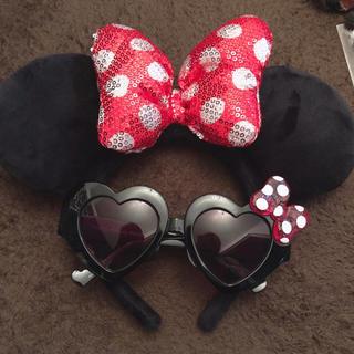 Disney - ミニー♡カチューシャ♡サングラス