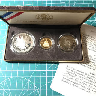 米国会200周年記念金貨セット(貨幣)
