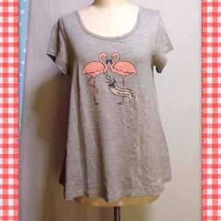 ドゥファミリー(DO!FAMILY)のDO!FAMILYフラミンゴカットソー(Tシャツ(半袖/袖なし))