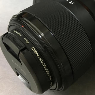 ソニー(SONY)のFE50mmF1.8(レンズ(単焦点))