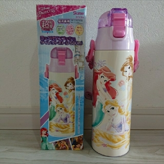 Disney - ラスト❗新品 プリンセス ワンプッシュダイレクトステンレスボトル 580ml