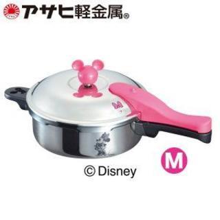 アサヒケイキンゾク(アサヒ軽金属)のアサヒ軽金属 ミニーマウスゼロ活力なべ(M)サイズ (5.5合炊き)(調理道具/製菓道具)