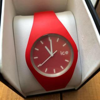 アイスウォッチ(ice watch)のかなぽん様 専用 アイスウォッチ  腕時計 レッド 赤(腕時計)