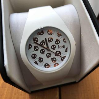 アイスウォッチ(ice watch)のアイスウォッチ  腕時計 白(腕時計)