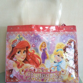 ディズニー(Disney)のディズニープリンセス プールバッグ新品(マリン/スイミング)