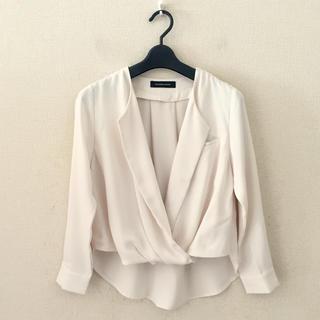 クイーンズコート(QUEENS COURT)のクイーンズコート♡シャツジャケット(テーラードジャケット)