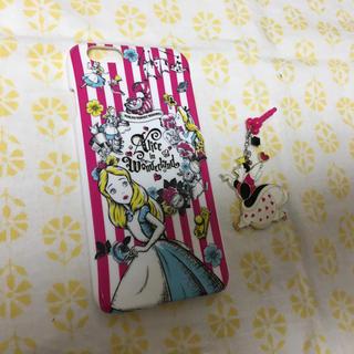 ディズニー(Disney)の不思議の国のアリス iPhone6s (モバイルケース/カバー)