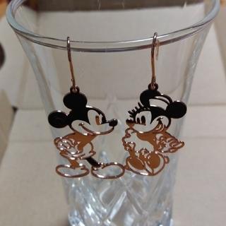 ディズニー(Disney)の【リメイク】ミッキー♡ミニー ピアス(ピアス)