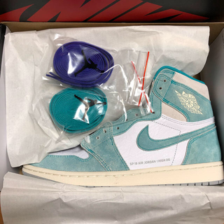 NIKE - AIR JORDAN 1 RETRO HIGH OG TURBO GREEN