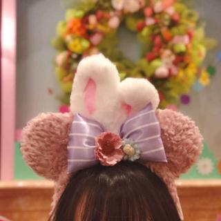 ディズニー(Disney)のぴのこ様専用 上海ディズニー カチューシャ シェリーメイ イースター ぬいぐるみ(ぬいぐるみ)