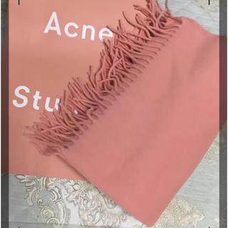 アクネ(ACNE)の新品 Acne Studios アクネ マフラー ピンク(マフラー/ショール)